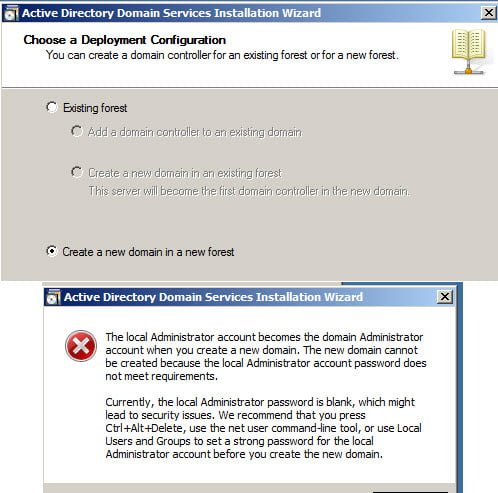 Create Active Directory Domain Controller