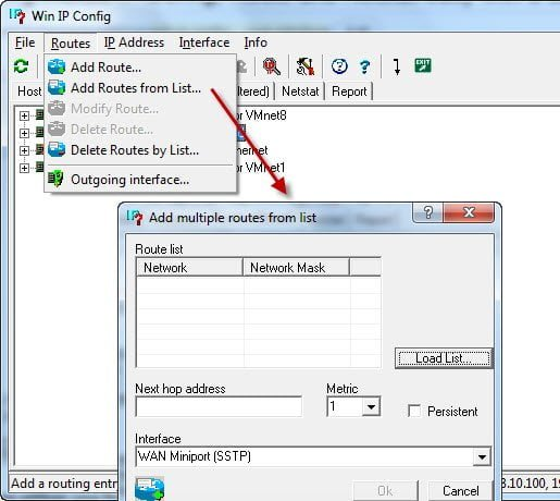 Add Routes from a configuration file