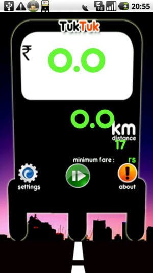Android app to Save you from being overcharged by the taxi and Auto rickshaw driver