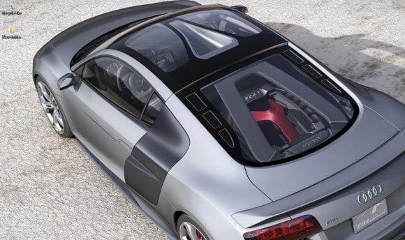 Audi R8 Theme for Windows 7 wall