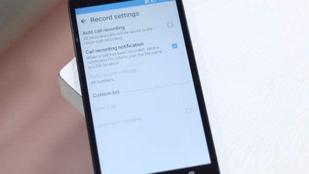 Auto Call recording Zenfone 2
