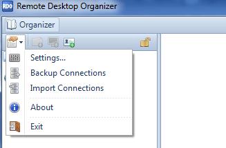 Backup RDO Settings