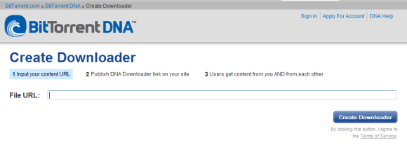 Bittorrent DNA Online