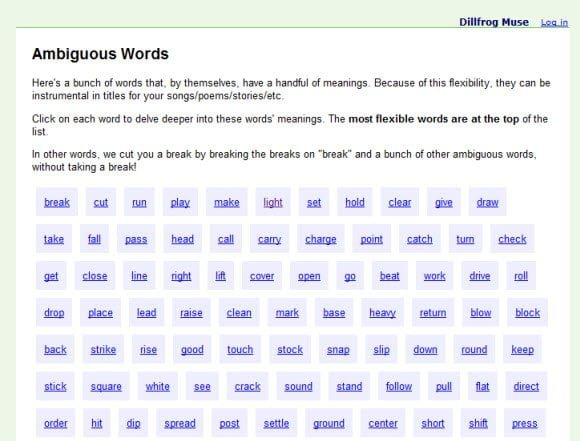 Create attractive titles, songs, etc. using Flexible Words