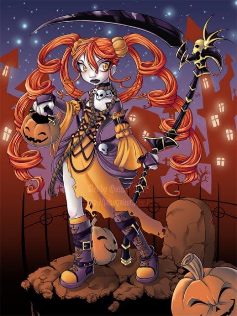 Devil Hair Doll Halloween