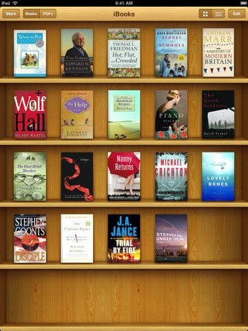 Download Books and read in flip style on your ipad