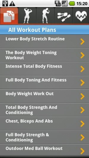 Free Fitness Workout Plans