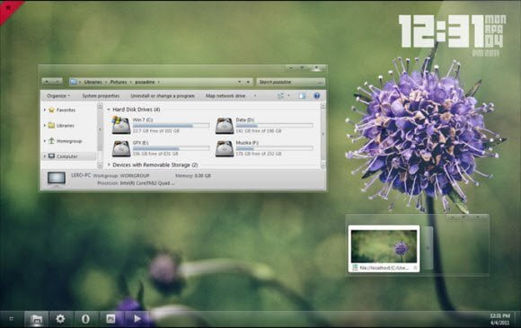 Glass Theme for Windows 7