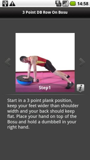 Guide on how to perform a physical workout exercise