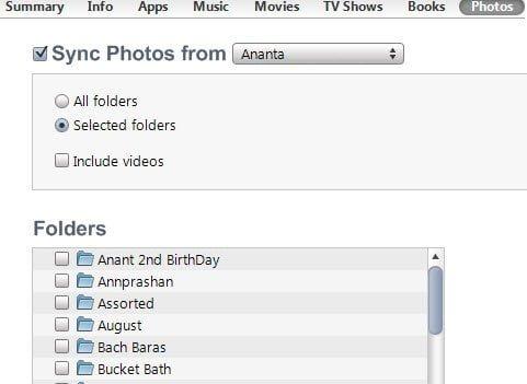 Importing Photos to iPad