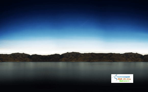 Lake and Mountain scenory for iPad