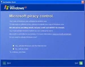 MS Piracy Control