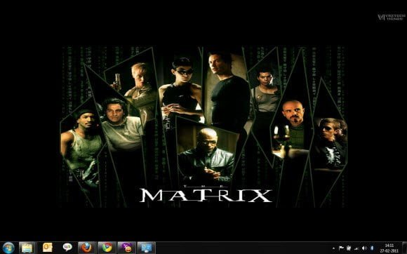 Matrix Theme Windows 7