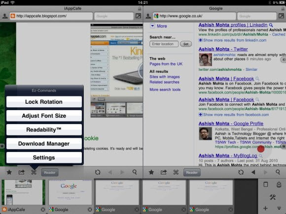 Maven Browser for iPad