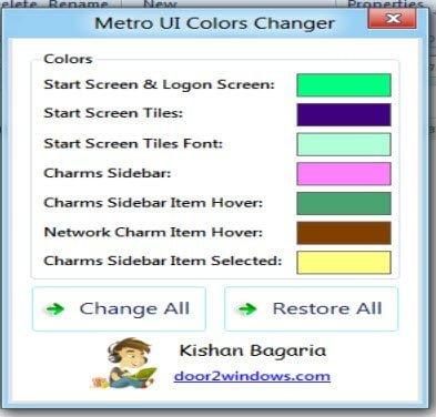 Metro Ui Changer
