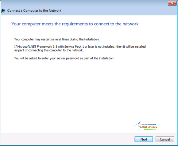 Network Requirement Check