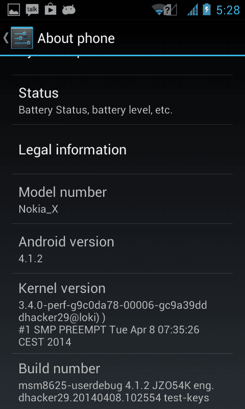 Nokia X Custom Rom