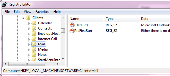 Outlook Mail Client Error