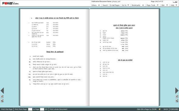 Read PDF files in Flip style like a book Pokat
