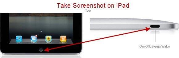 Screenshot of iPad
