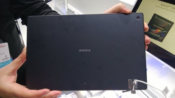 Sony Xperia Back View