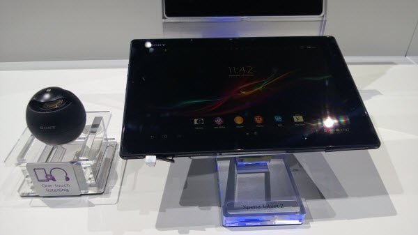 Sony Xperia Z Front View