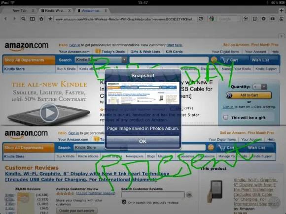 SuperProber Browser for iPad