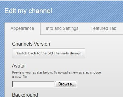 Switch to Old Channel Version