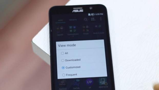 View Mode in Zenfone 2