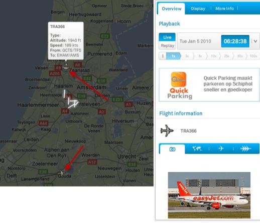 Casper live flight tracking