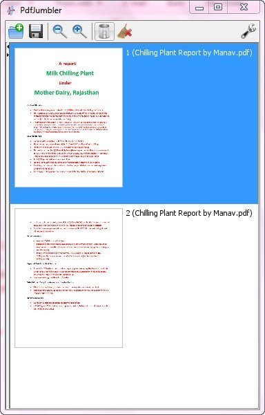 free software to Rearrange, delete pages from a PDF file, merge multiple=