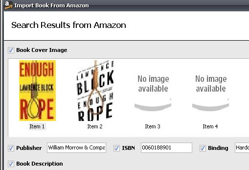 Import Book details from Amazon