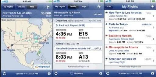 International Flight Tracker
