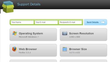 Support details mail pdf