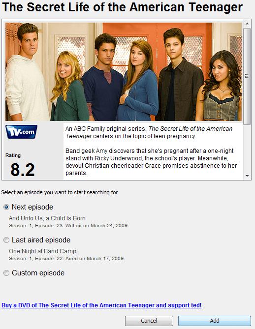 Details and Description of TV Shows