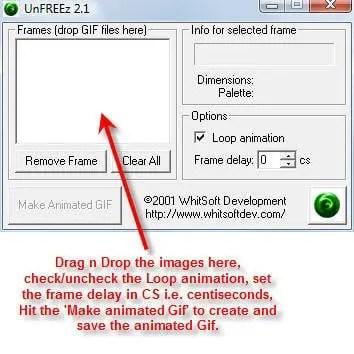 unfreez-simple-interface