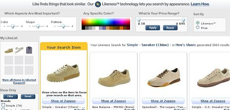 Visual Search Example