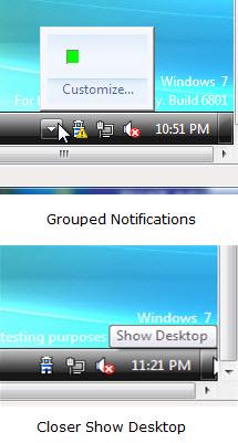 Windows 7 Grouped Icons