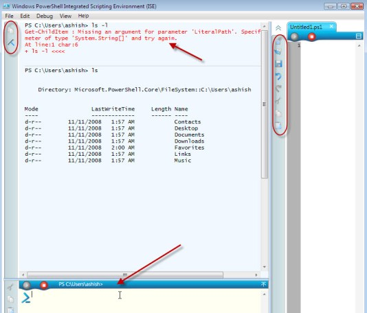 Windows 7 Features : Powershell