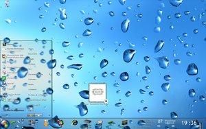 Windows Vista Transparent Taskbar by tytynon