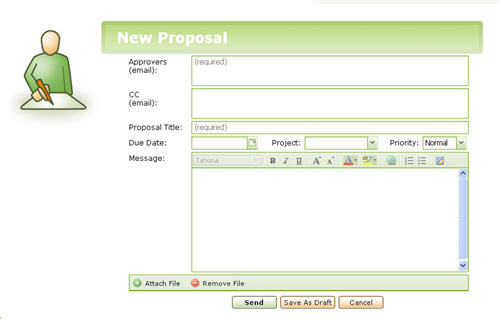 Zapproved - Creating a new proposal