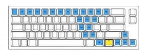 ProgresTouch Tinyのキー配列