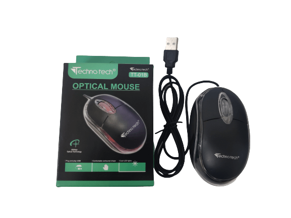 TT-01B Assorted USB 2.0 Wired Optical Mouse