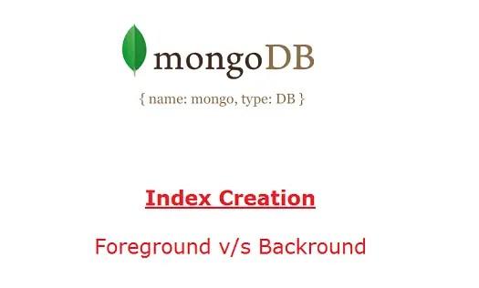background-index-creation-mongodb