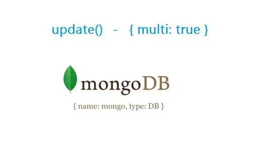 multi update mongodb