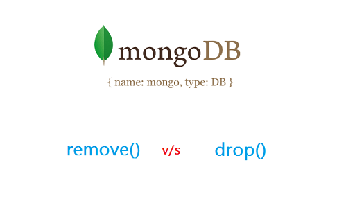 remove drop mongodb