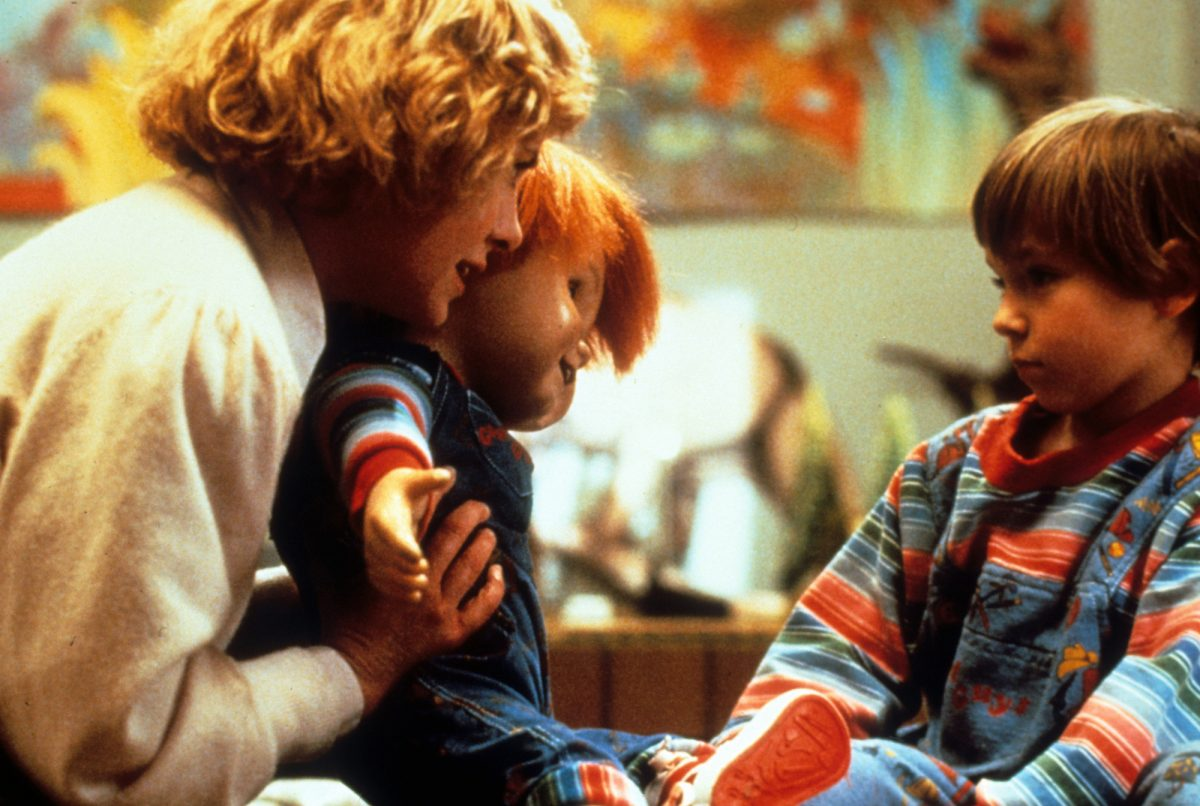Child's Play: Catherine Hicks presents Alex Vincent with Chucky