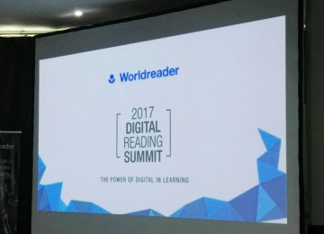 Digital Learning: Worldreader 2017 Digital Reading Summit Event