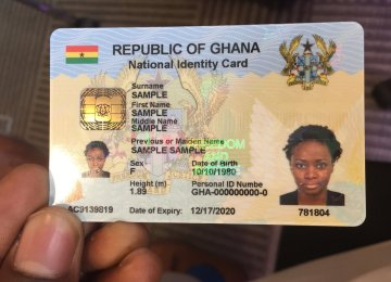 After Much Delay, Registration Of The Ghana ID Cards Begins Today