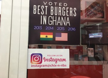 What Does This Chix n Ribs Ad' Say Of Eateries In Ghana?